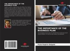 Buchcover von THE IMPORTANCE OF THE BUSINESS PLAN