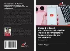 Обложка Usare i video di YouTube sottotitolati in inglese per migliorare l'apprendimento del vocabolario
