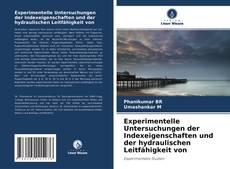 Couverture de Experimentelle Untersuchungen der Indexeigenschaften und der hydraulischen Leitfähigkeit von