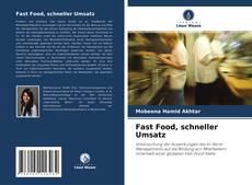 Fast Food, schneller Umsatz kitap kapağı