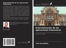 Capa do livro de Externalización de las operaciones financieras