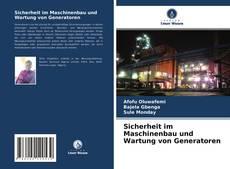Обложка Sicherheit im Maschinenbau und Wartung von Generatoren