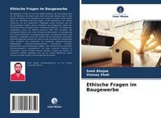 Buchcover von Ethische Fragen im Baugewerbe