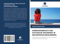 KINDESMISSBRAUCH UND PSYCHISCHE GESUNDHEIT IN DEN ENTWICKLUNGSLÄNDERN kitap kapağı