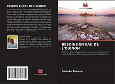 Copertina di BESOINS EN EAU DE L'OIGNON