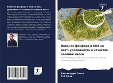 Влияние фосфора и СОВ на рост, урожайность и качество зеленой массы kitap kapağı
