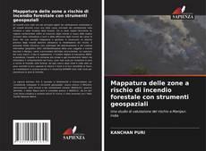 Capa do livro de Mappatura delle zone a rischio di incendio forestale con strumenti geospaziali