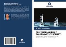 Portada del libro de EINFÜHRUNG IN DIE POLITIKWISSENSCHAFT