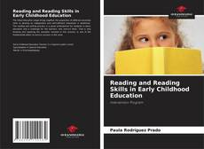 Capa do livro de Reading and Reading Skills in Early Childhood Education