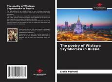 Capa do livro de The poetry of Wisława Szymborska in Russia