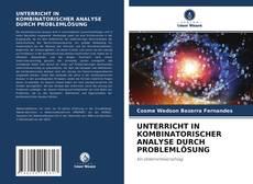 Bookcover of UNTERRICHT IN KOMBINATORISCHER ANALYSE DURCH PROBLEMLÖSUNG