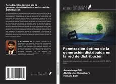 Capa do livro de Penetración óptima de la generación distribuida en la red de distribución