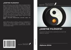 Buchcover von ¿GOETHE FILÓSOFO?