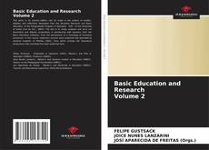 Couverture de Basic Education and Research Volume 2