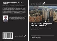 Portada del libro de Empresas de propiedad civil en Camerún