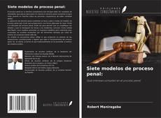 Copertina di Siete modelos de proceso penal: