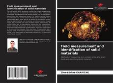 Bookcover of Field measurement and identification of solid materials