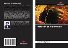 Bookcover of Paradox of melancholy
