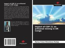 Bookcover of Impact of COP 21 on artisanal mining in DR Congo