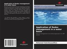 Bookcover of Application of Redox management in a water basin