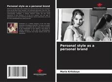 Bookcover of Personal style as a personal brand
