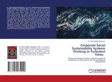 Buchcover von Corporate Social Sustainability Systems Thinking In Turbulent Times