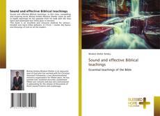 Buchcover von Sound and effective Biblical teachings