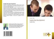 Buchcover von leadership development