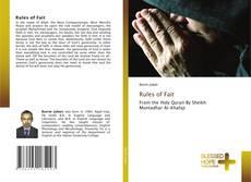 Buchcover von Rules of Fait