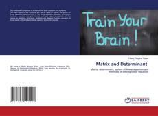 Buchcover von Matrix and Determinant