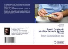Copertina di Speech Function in Maxillary Complete Denture Wearer