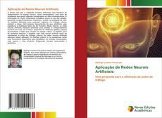 Bookcover of Aplicação de Redes Neurais Artificiais: