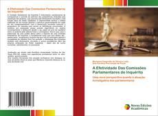 Bookcover of A Efetividade Das Comissões Parlamentares de Inquérito