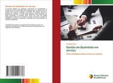 Bookcover of Gestão da Qualidade em serviço