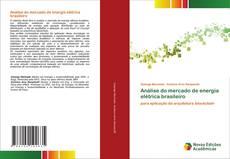 Análise do mercado de energia elétrica brasileiro kitap kapağı