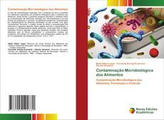 Buchcover von Contaminação Microbiológica dos Alimentos