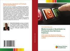Обложка Modernização e Qualidade na Prestação dos Serviços Públicos