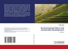 Capa do livro de Environmental Ethics and Sustainable Development