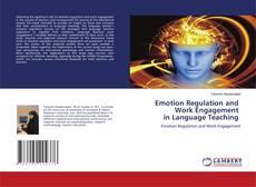 Capa do livro de Emotion Regulation and Work Engagement in Language Teaching