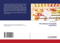 Bookcover of The History of English Literature