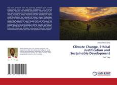 Portada del libro de Climate Change, Ethical Justification and Sustainable Development