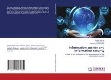 Capa do livro de Information society and information security