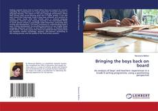 Bookcover of Bringing the boys back on board