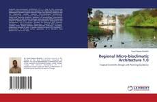 Couverture de Regional Micro-bioclimatic Architecture 1.0