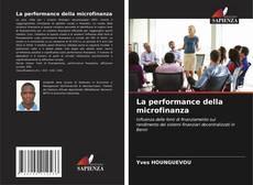 Обложка La performance della microfinanza
