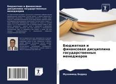 Обложка Бюджетная и финансовая дисциплина государственных менеджеров