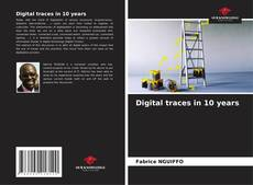 Bookcover of Digital traces in 10 years