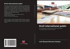 Обложка Droit international public