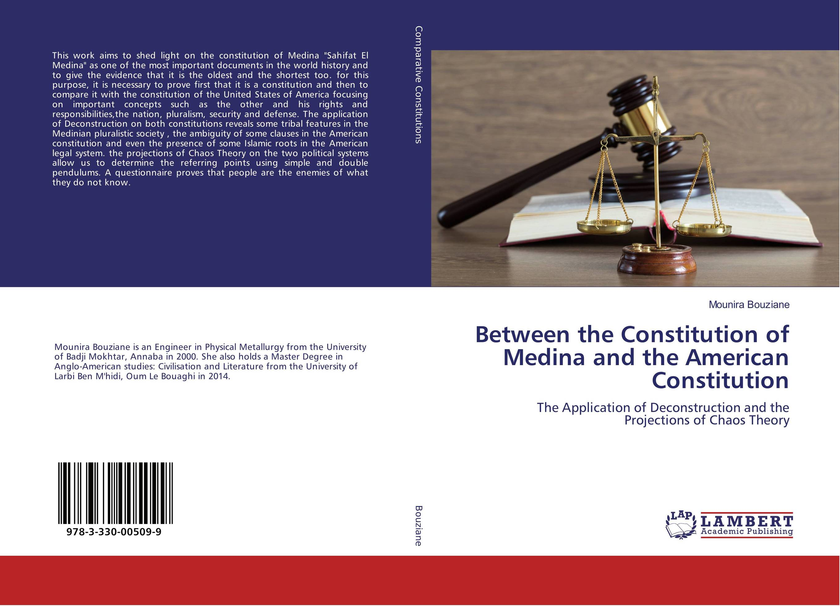 9783330005099 Between the Constitution of Medina and the America Constitution