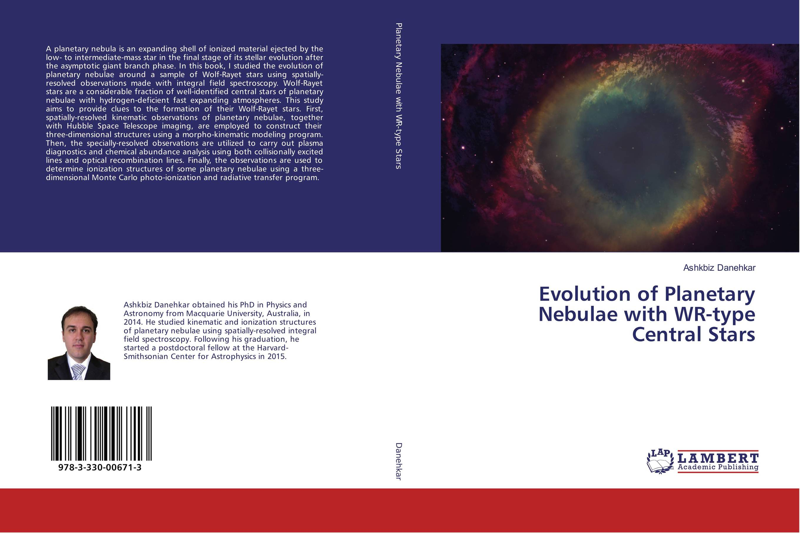9783330006713 Evolution of Planetary Nebulae with WRtype Central Stars Ashkbi